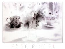 Stephen Hender Tete a Tete Poster Kunstdruck Bild 53x71cm - Kostenloser Versand