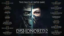 Dishonored 2 Limited Edition new (PS4, 2016)