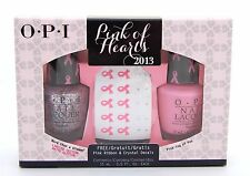 OPI PINK OF HEARTS More than a Glimmer & Pinkin-ing of you nail polish set