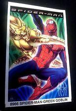 SPIDER-MAN GREEN GOBLIN Rare MINI POSTER 3X5 Inch PROMO Starline