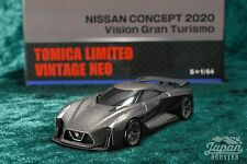 [TOMICA LIMITED VINTAGE NEO 1/64] NISSAN CONCEPT 2020 Vision Gran Turismo (Gray)
