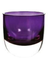 Purple Sophia Glass Tealight Holder