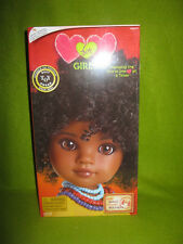 Original RAHEL FROM ETHIOPIA Hearts For Hearts Doll RARE New (last one)