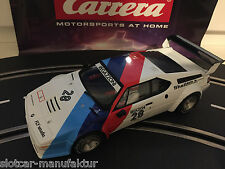 "Carrera Digital 124 23820 BMW M1 PROCAR ""REGAZZONI NO.28"", 1979 TOP"