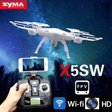 White Syma X5SW WIFI FPV RC Quadcopter Drone 2.4Ghz 4CH 6-Axis RTF 2MP Camera HD