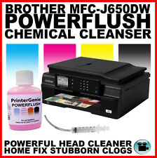 Brother MFC-J650DW Printhead Unblocking Kit - Head Cleaner & Nozzle Cleanser