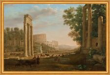 Capriccio with ruins of the Roman Forum Claude Lorrain Italien Rom B A2 01212
