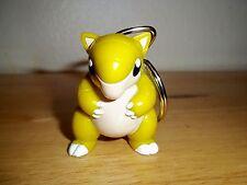 Sandshrew Keychain Figure - Pokemon Burger King Toy Pokemon Go Key Ring 1999