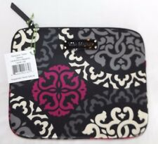 VERA BRADLEY NEOPRENE TABLET SLEEVE - IPAD CASE - CANTERBERRY MAGENTA - NEW -NWT