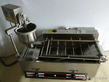 Automatic Gas donut making/frying machine,donut maker machine,3 molds 1200pcs/h