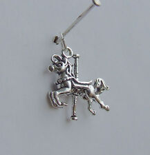 CAROUSEL HORSE 3D Charms Charm Argento Sterling 925