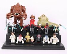 15pcs Star wars Jabba Rancor BB8 Darth Vader C3po Minifigures Custom Lego