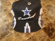 DALLAS COWBOYS DPE SPLASH SHARK  SCRIPT DEADSTOCK 90'S HAT CAP VINTAGE SNAPBACK