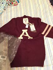 Abercrombie &Fitch Vintage American Made Sweater Rare 100% Wool Men's XXL