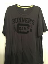 MEN's OLD NAVY ACTIVE XXL/ 2XL charcoral gray shirt - runner's camp