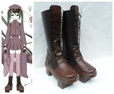 Vocaloid Miku Senbon Sakura Cosplay Costume Boots Boot Shoes Shoe UK