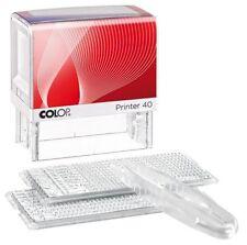 STEMPEL - Selbstsatz, COLOP Printer P40/2 Set, 6 Zeilen, 26 Zeichen/Zeile