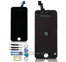 UK For Apple iPhone 5S Black LCD Digitizer Touch Screen Glass Assembly+Tools