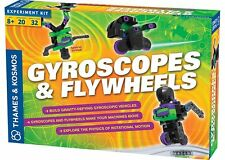 Thames & Kosmos GYROSCOPES and FLYWHEELS KIT 20 Science Experiments