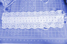 Corset  Lace Ups Trim With Ribbons 18   Inch White   Wedding Bfab
