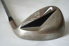 Nike Engage Dual Sole 58 degree Wedge with Wedge flex steel shaft - Raw finish