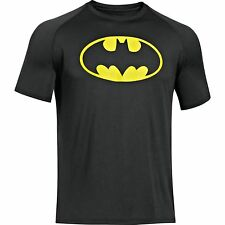 NEW UNDER ARMOUR Heat Gear Alter Ego BATMAN Loose Fit shirt men 3XL