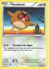 POKEMON CARD XY BREAK THROUGH - HOOTHOOT 119/162