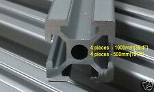 T-Slot Aluminum Extrusion 2020 for 3d printer , cnc , 4pcs x 1000mm 4pcs x 500mm
