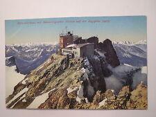 Münchnerhaus mit Meteorologischer Station auf der Zugspitze / AK