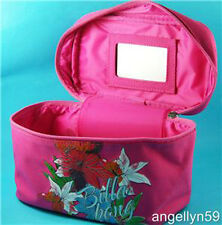 BILLABONG LADIES GIRLS Make Up CASE Pink Travel Purse Zip Up Cosmetics Bag NEW