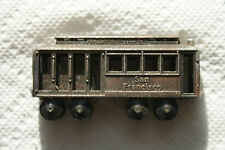 Old Vintage 1982 San Francisco Cable Car 82 Pencil Sharpener Hong Kong Miniature