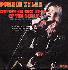 BONNIE TYLER-SITTING ON THE EDGE OF THE OCEAN + BABY I JUST LOVE YOU SINGLE 7""