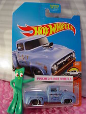 2017 Hot Wheels CUSTOM '56 FORD TRUCK✰Kmart Exclusive blue/brown✰✰Case F