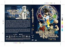 DVD Avatar: The Legend of Korra Collection ( Book 1,2,3,4 ) ~ English Version