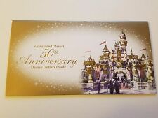DISNEY $10 DOLLAR 2005 STICH - UNC + Commemorative envelope 50th Disneyland