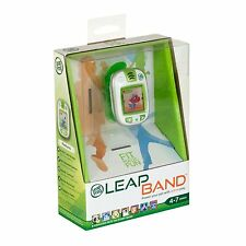 LeapFrog LeapBand Green Kids Leap Band Activity Watch Ages 4+ New Boys Girls Toy