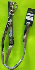 "4' x 5/8""  Gray Puppy/Small Dog Leash Lead Sporty Xtrm Game Over~BRAND NEW!"