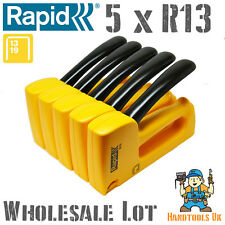 5 x Rapid R13 Ergonomic Hand Tacker / Stapler for WHOLESALE