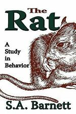 The Rat : A Study in Behavior by S. A. Barnett (2007, Paperback)