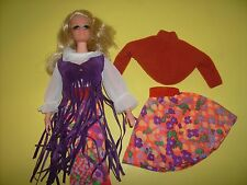 #1508 Live Action PJ doll original 1970's Sears Fashion 'N Motion Vintage Barbie