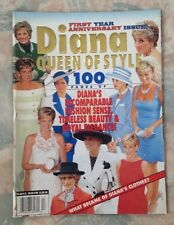 Princess Diana Queen Of Style 1998 Magazine