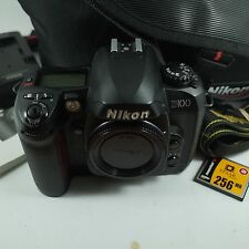 Nikon D100 6.1MP Digital SLR Camera Black Body only