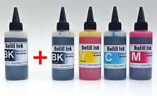 500ml Bulk Refill UV INK for Brother LC51 LC61 LC65 LC71 LC75 LC79 + extra black