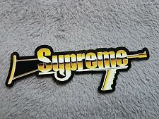 stickers supreme ss17 2017 automatic weapon