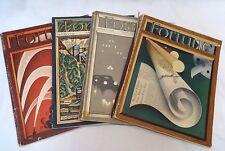 FORTUNE MAGAZINE 4-Volume LOT: August 1934; February, October, & November 1937