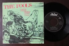 THE FOOLS PUNK SINGLE MADE IN PORTUGAL 45 PS 7 * PSYCO CHIKEN *