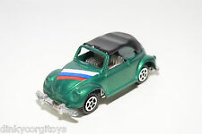 VW VOLKSWAGEN BEETLE KAFER CABRIOLET METALLIC GREEN NEAR MINT CONDITION