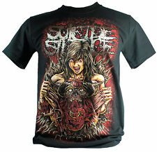 Suicide Silence Medium Size M New! T-Shirt (No Time To Bleed) 1186