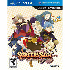 Sorcery Saga: The Curse of the Great Curry God  (Sony PlayStation Vita, 2013)