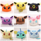 Pokemon Plush Warm Hat Cap Beanie Cosplay Costume Eevee Sylveon Jolteon Umbreon